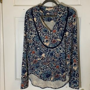 Tory Burch long sleeve blouse